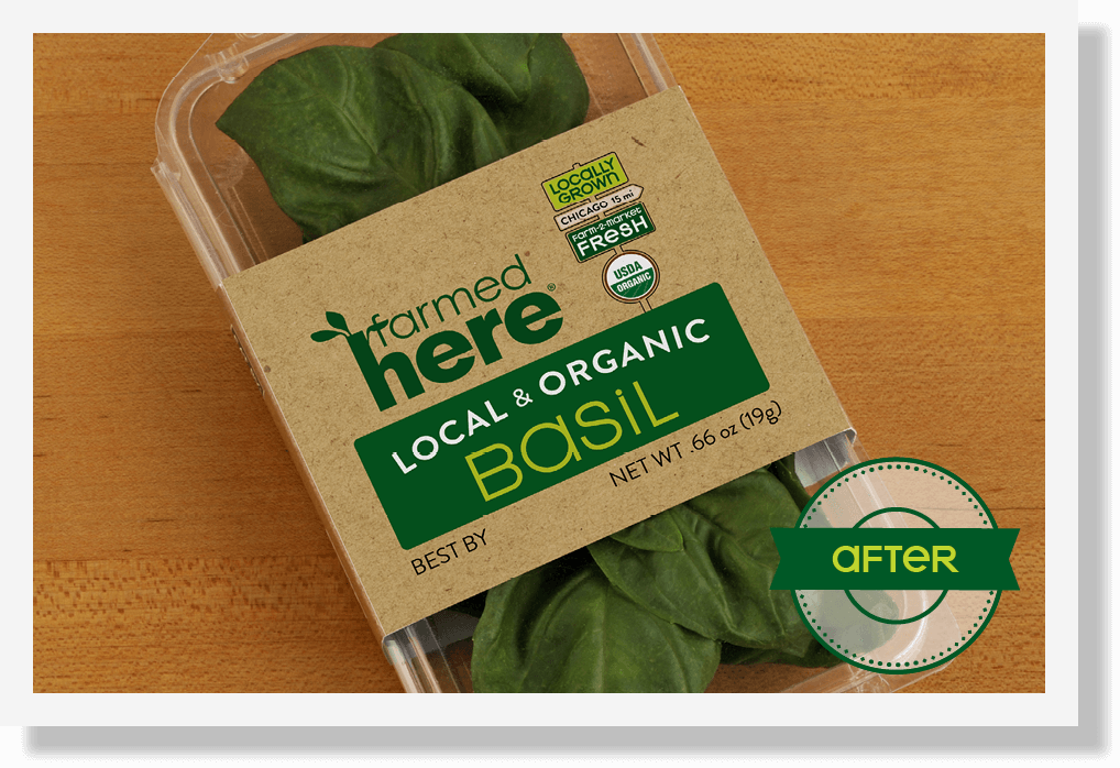 dtd farmedhere packaging basil after