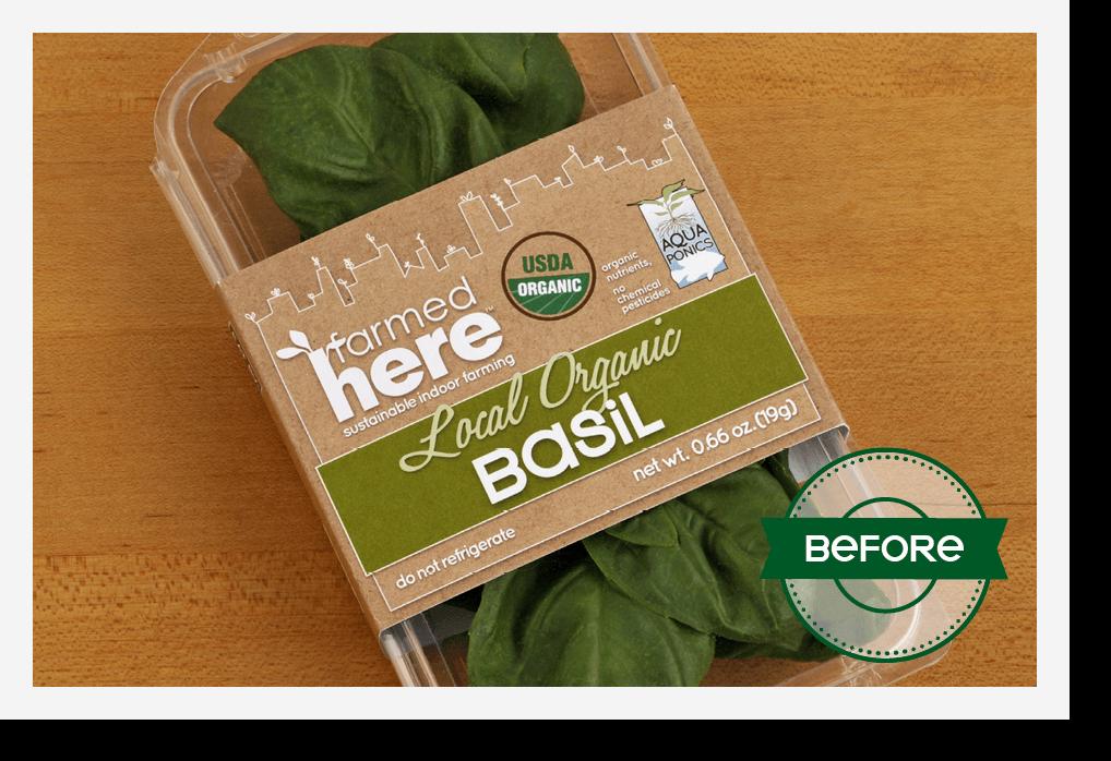 dtd farmedhere packaging basil before