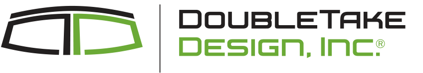 Double Take Design Logo