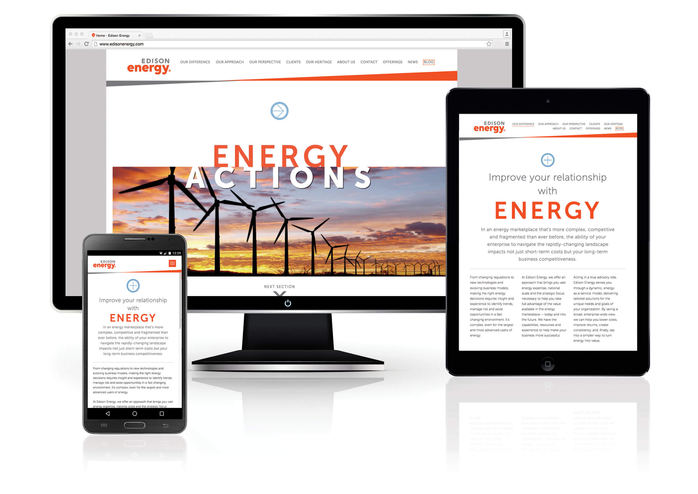 new edison energy website image