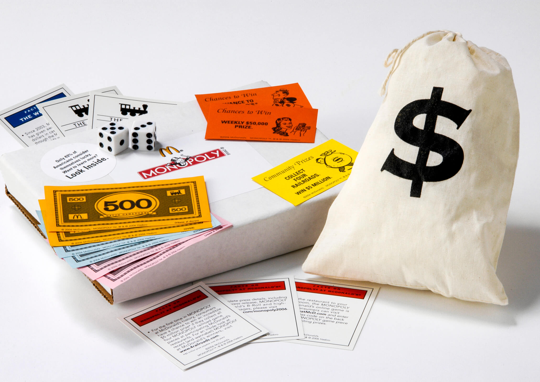 McDonald's Monopoly Press Kit image