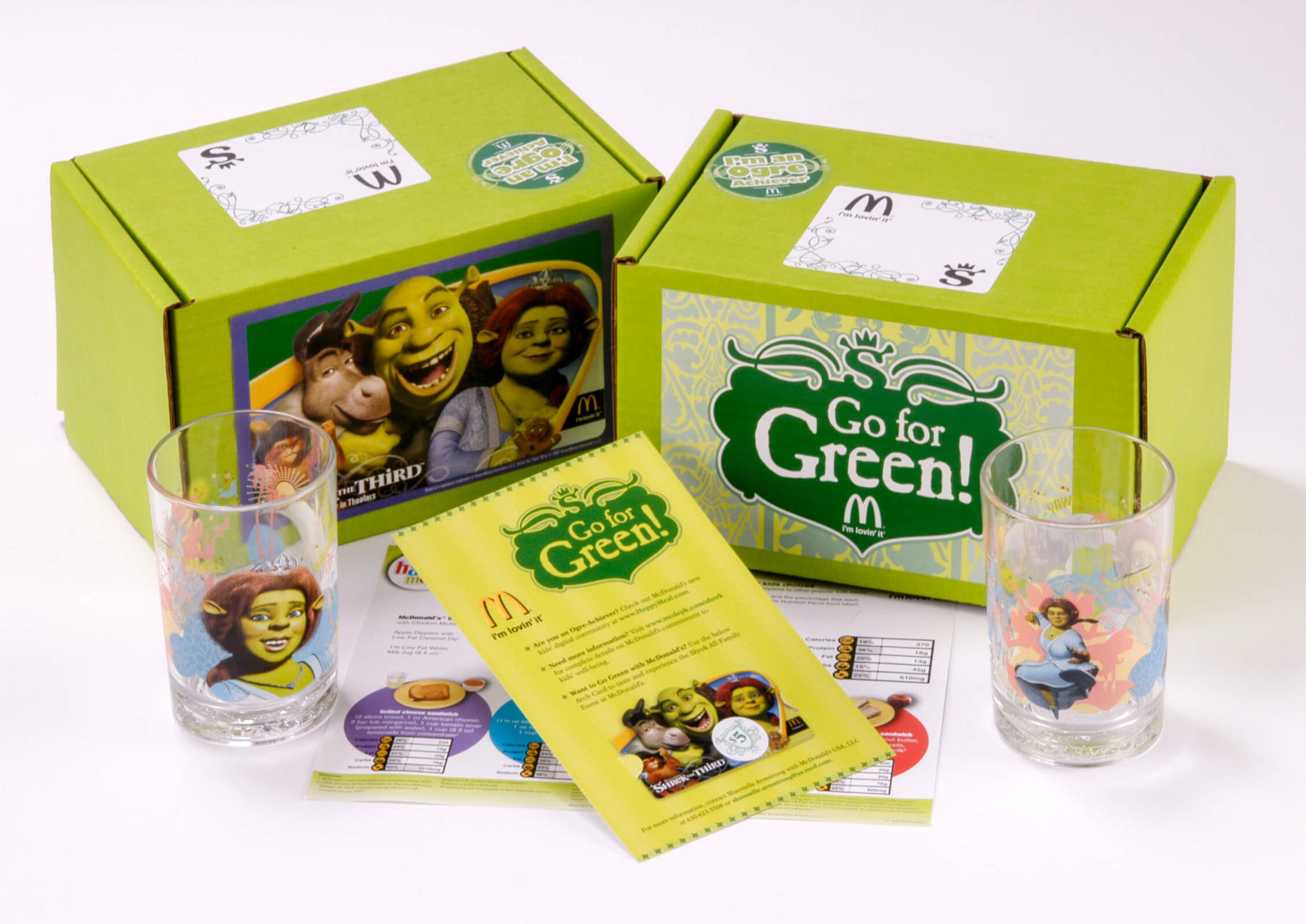 dtd mcds press kits shrek image