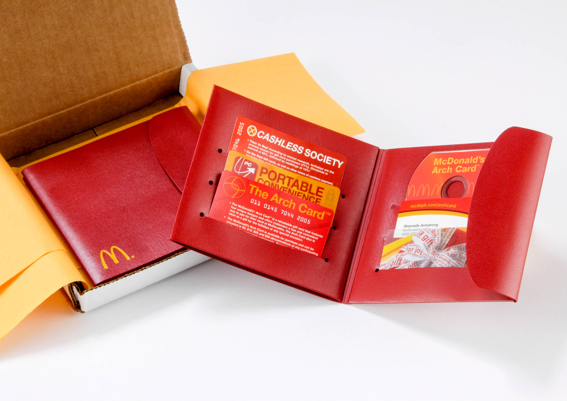 McDonald's Gift Card Wallet Press Kit Image