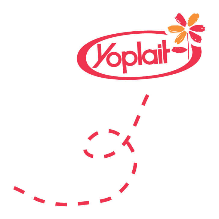 yoplait new ventures logo stationery side bar image