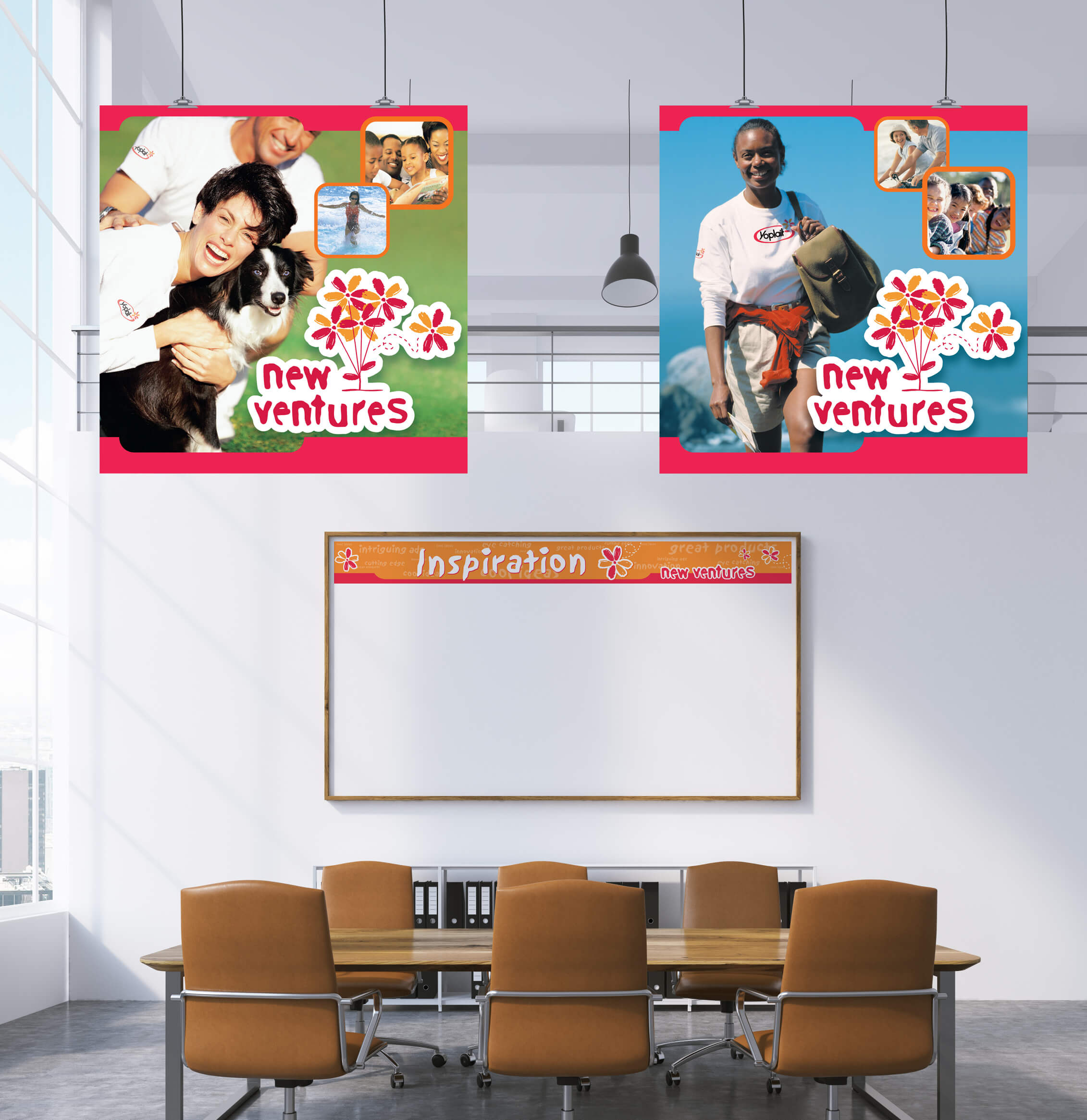 yoplait new ventures signage image