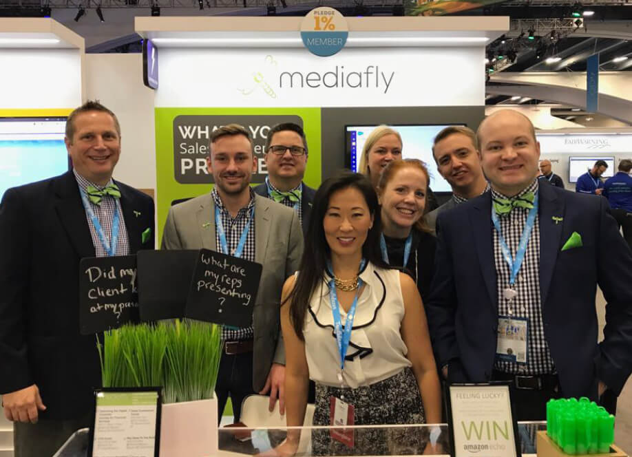Mediafly Dreamforce 2017 booth image 03