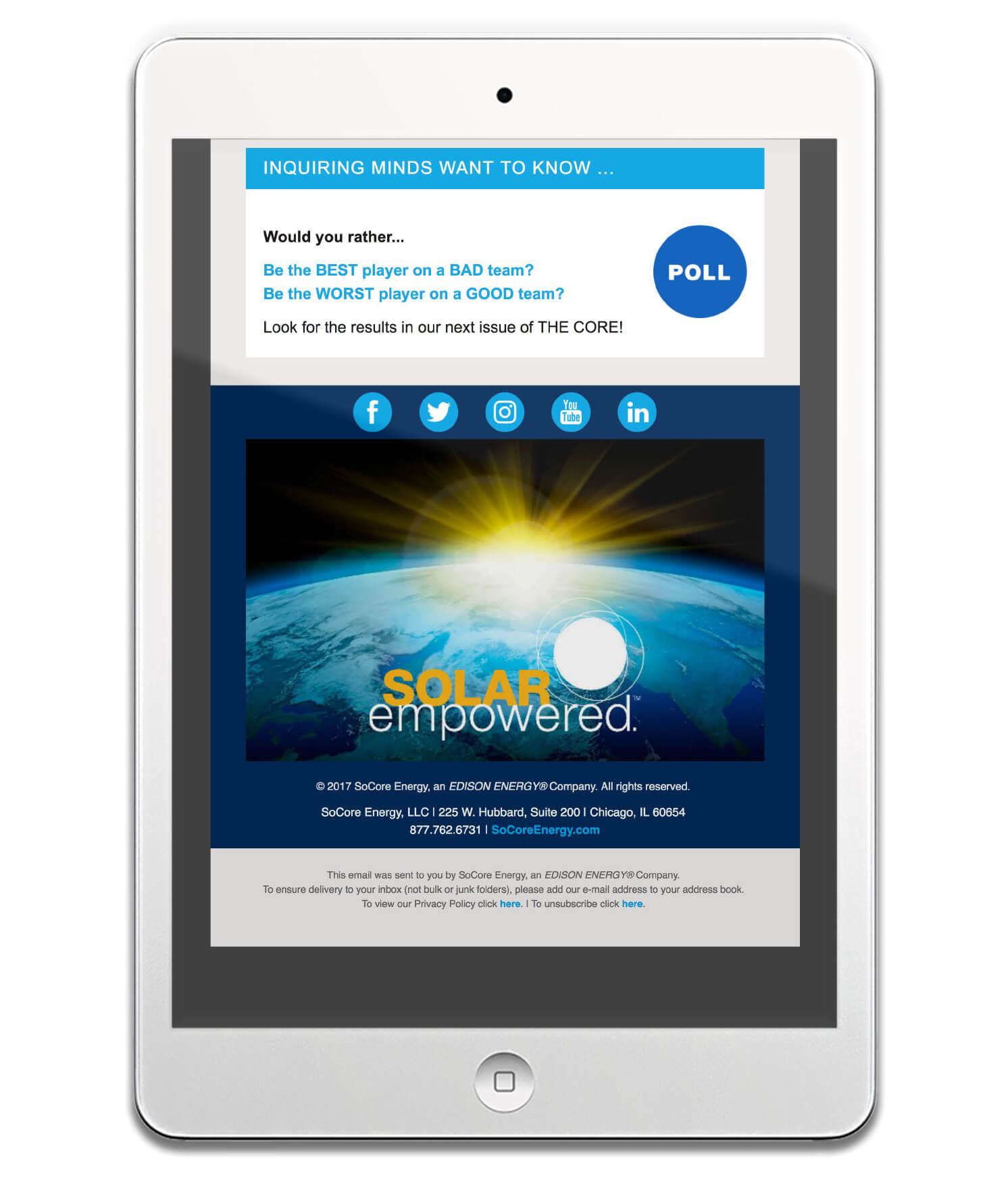 SoCore Energy Brand Revitalization — Website and Marketing