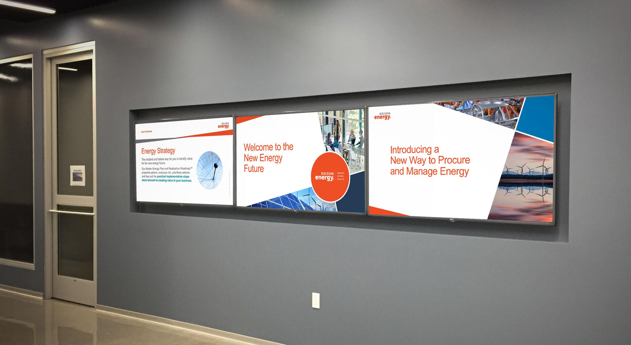 edison energy reskin lobby monitors image