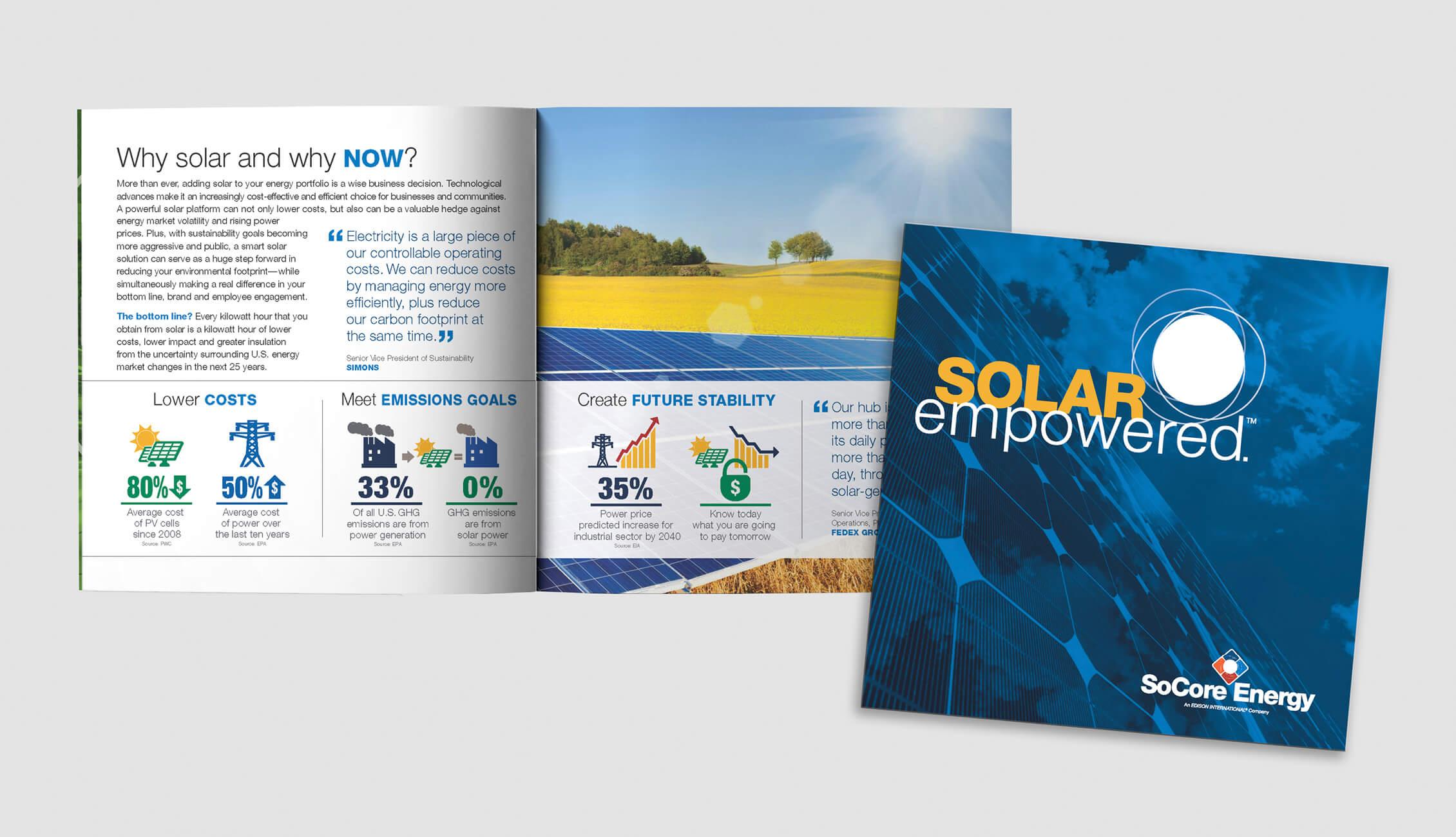 SoCore capabilities brochure image