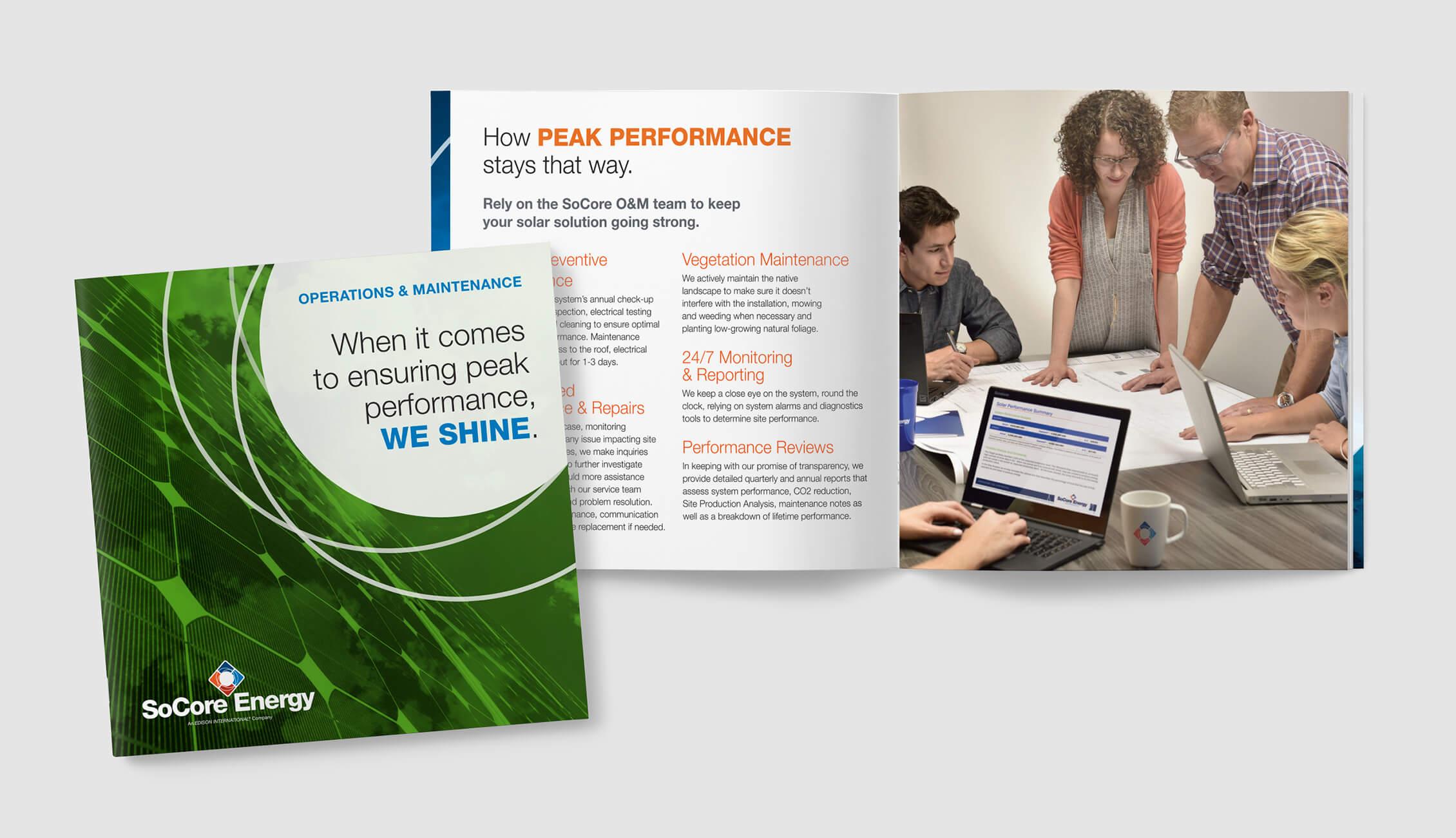 SoCore O&M Brochure Image