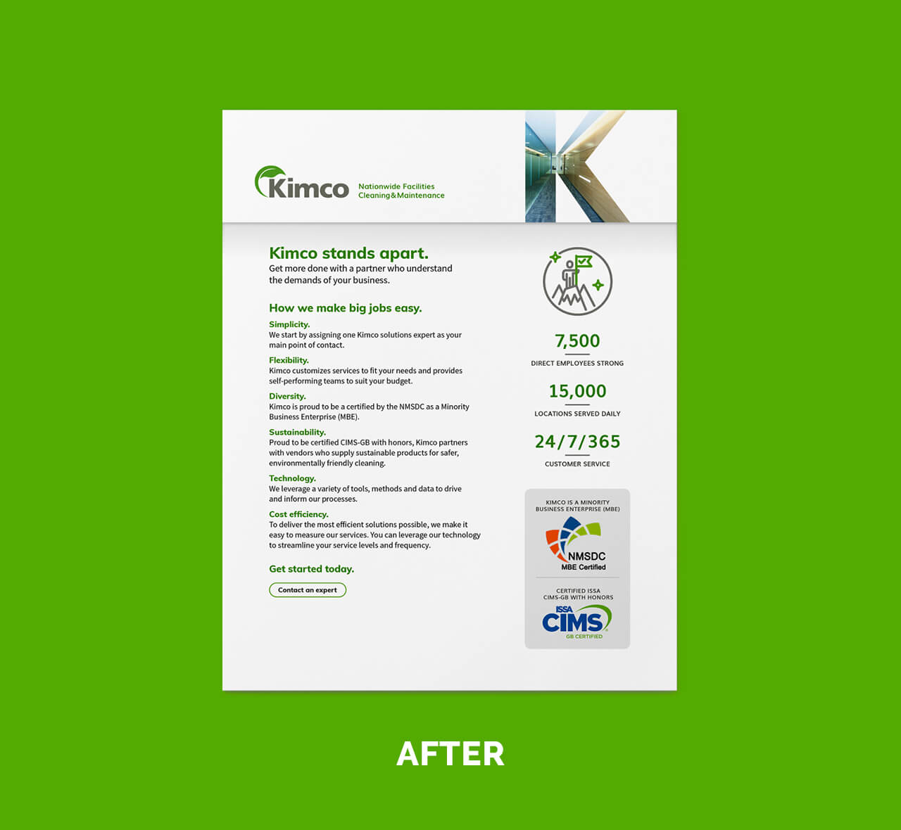 dtd kimco marketing materials after example