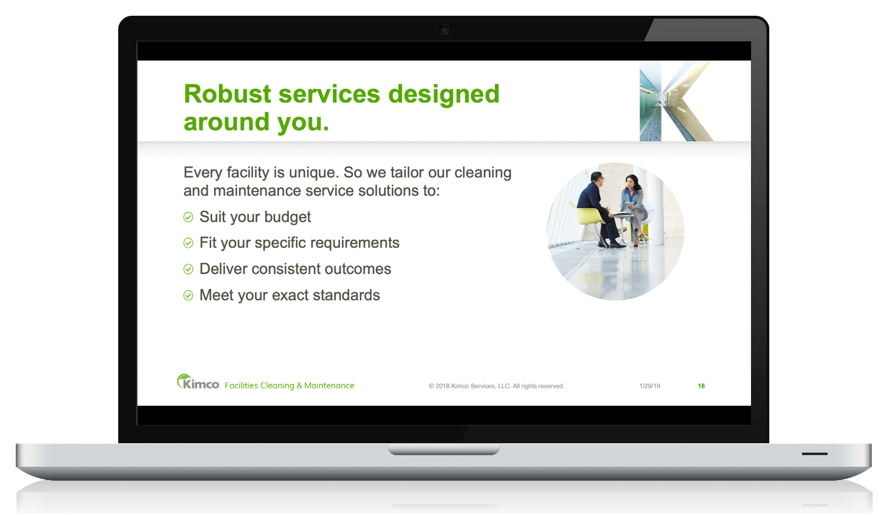 Kimco Services Website Redesign and Brand Revitalization